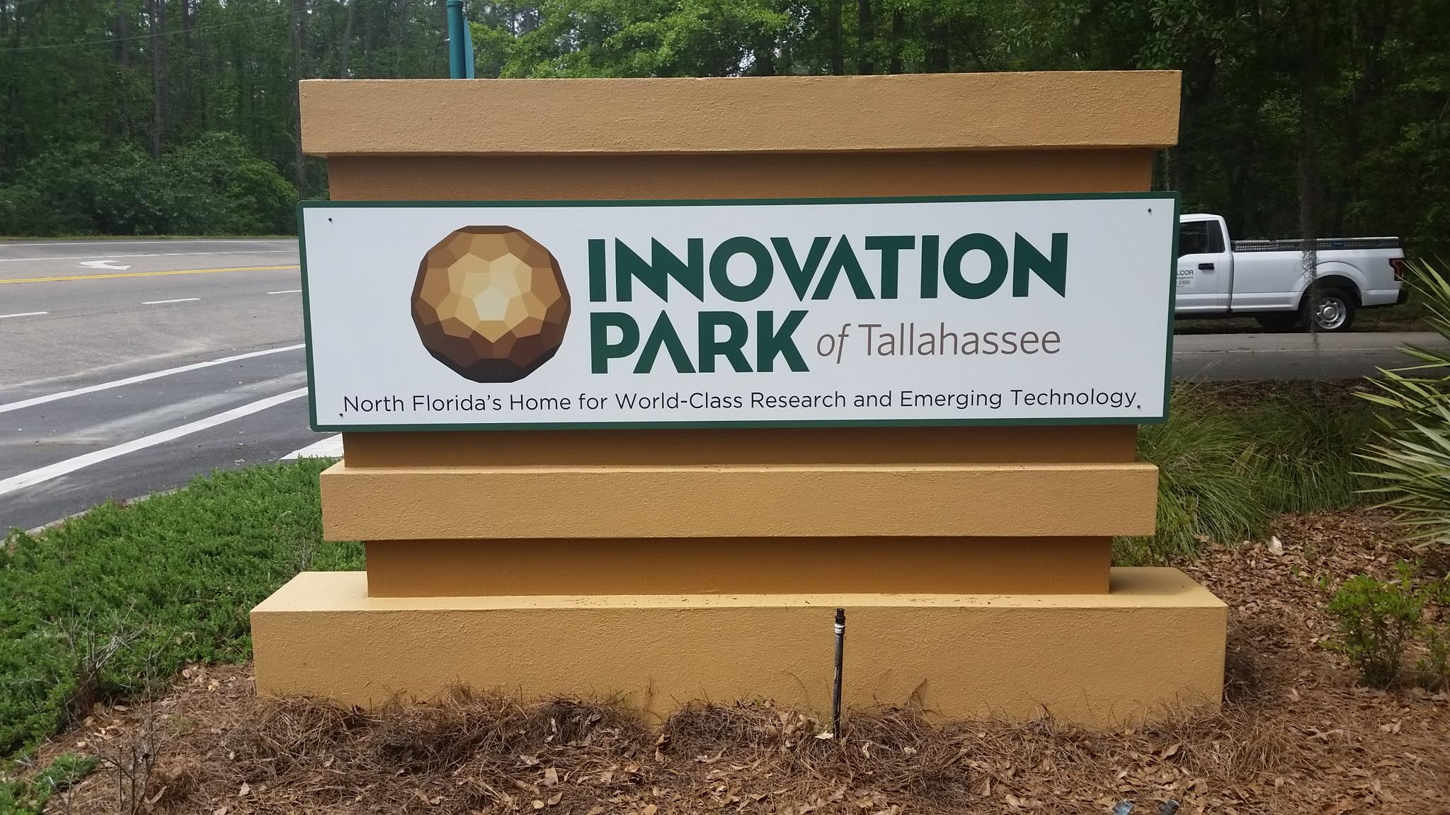 New signs at Innovation Park of Tallahassee