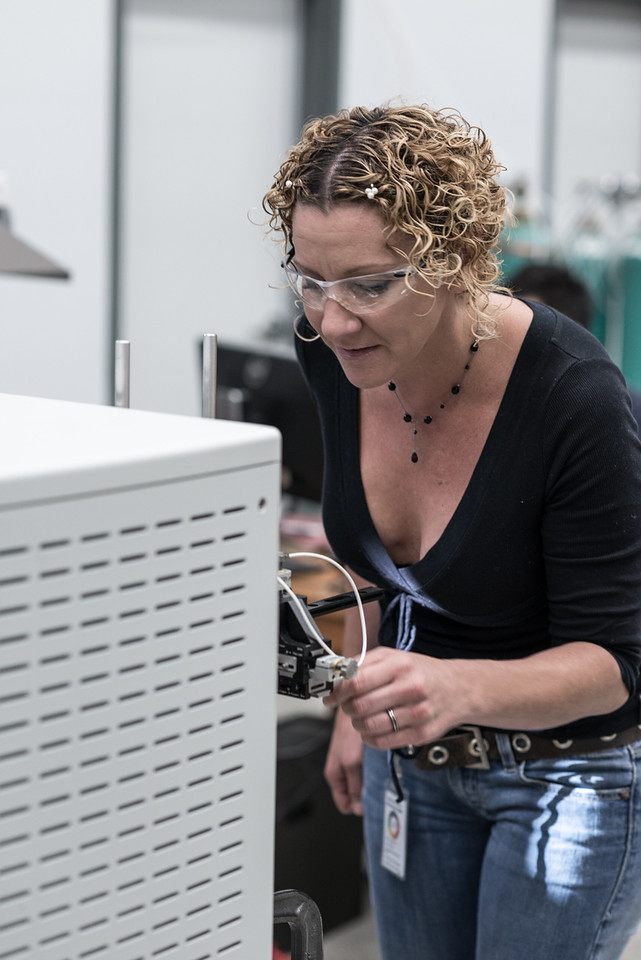 Dr. Amy McKenna at the National MagLab