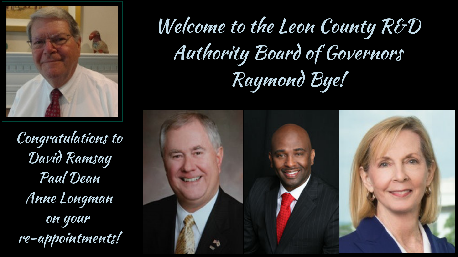 2018 Leon County R&D Authority Board of Governors