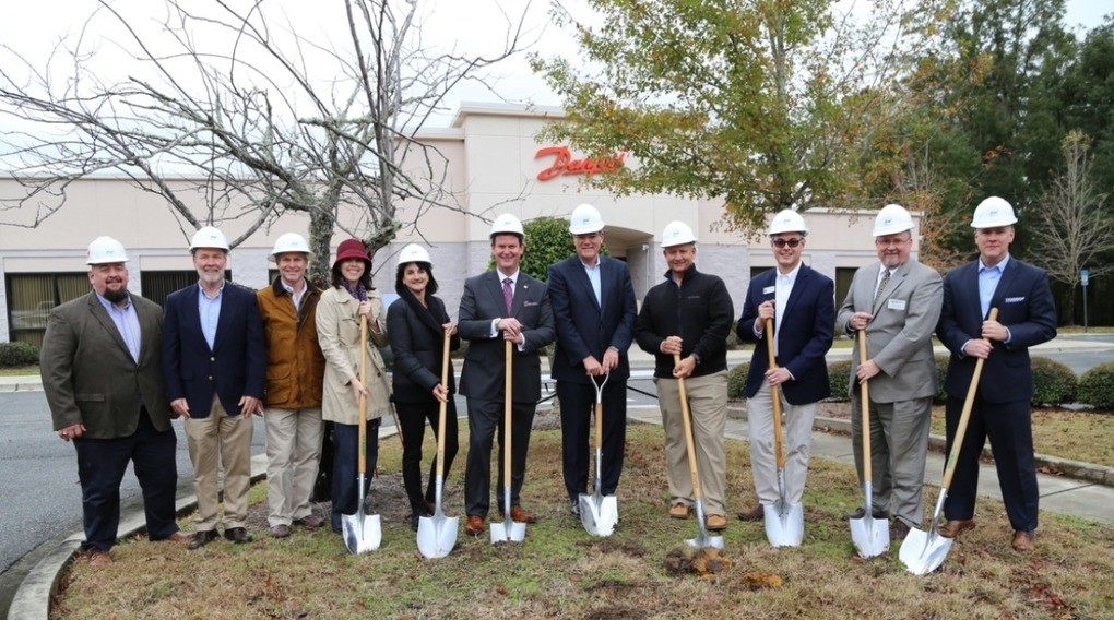 Danfoss Turbocor breaks ground on expansion at their facility in Innovation Park of Tallahassee
