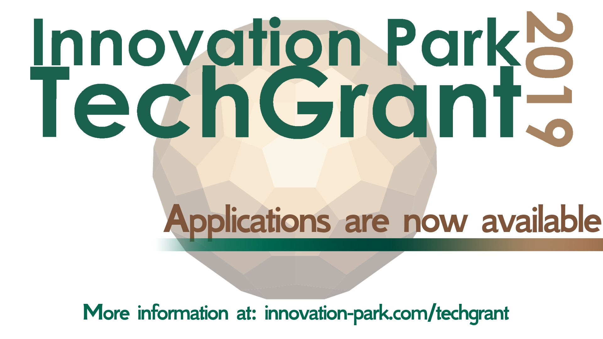 Innovation Park TechGrant 2019 Applications now available
