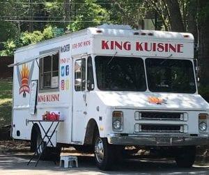 King Kuisine FoodTruck in Innovation Park